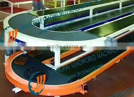 slatband chain conveyor for daily, tobacco, electronic industries