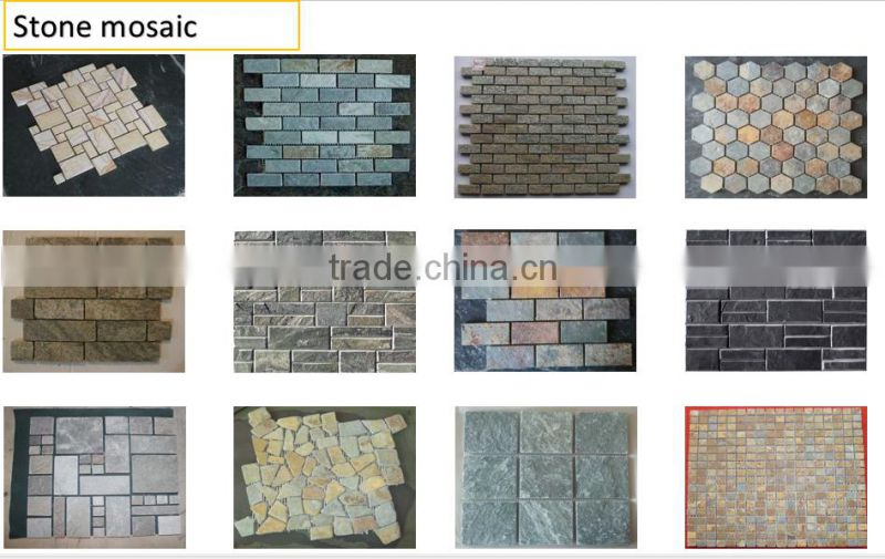 Norton factory Natural stack slate stone panel cladding NTCS-C032Y