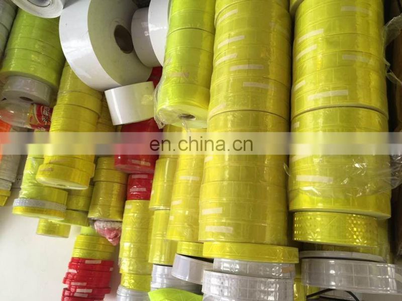 yellow reflective tape for car/clothing/shoes/gags/gloves