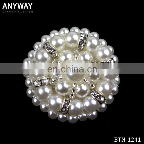 White bridal garment button types,pearl snap button,polyester button for wedding dresses