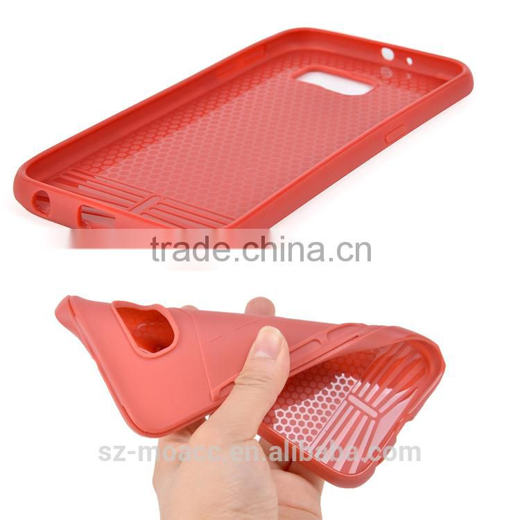 2 in 1 pu+tpu Funky Folding holder Case for samsung galaxy s6
