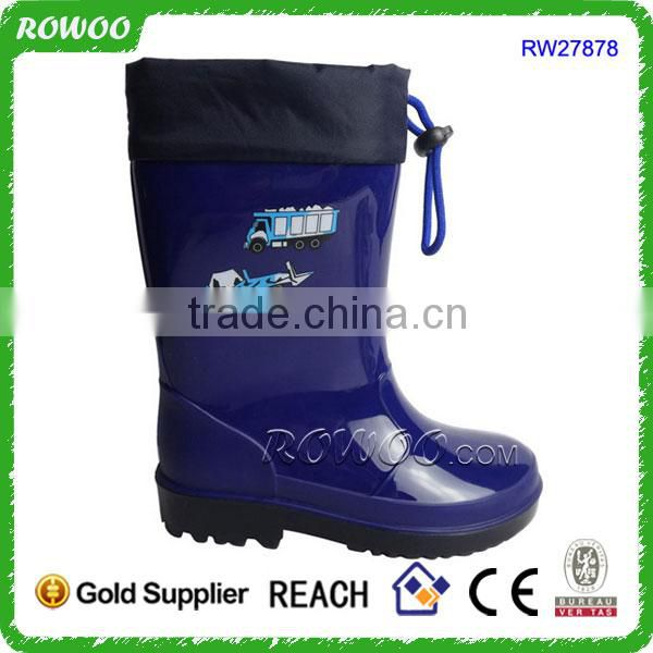 high cut pvc boots, China military boots, men pvc safety boots