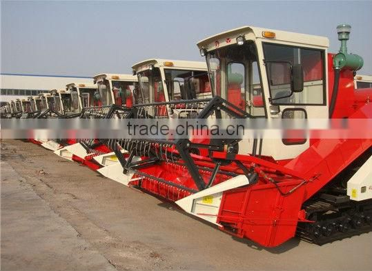 Small Mini Wheel Self-propelled Combine used rice combine harvester Wheat,Rice,Soybean Model 4LZ-1.0 /1.5 /2.0 /2.0d /2.6 /3