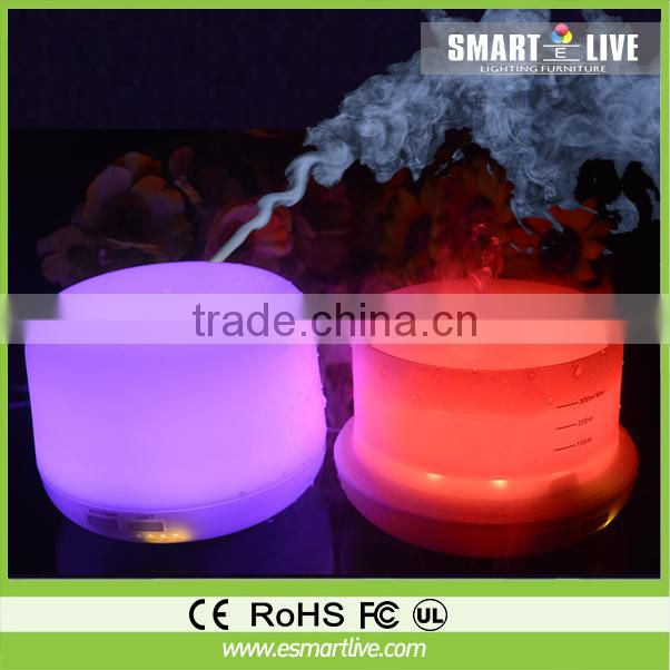 Greia humidifier/amazing aroma new ocean mist humidifier with colorful LED