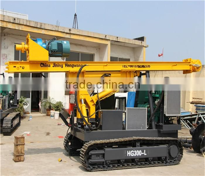 Hydraulic rotary piling rig used for pile driver