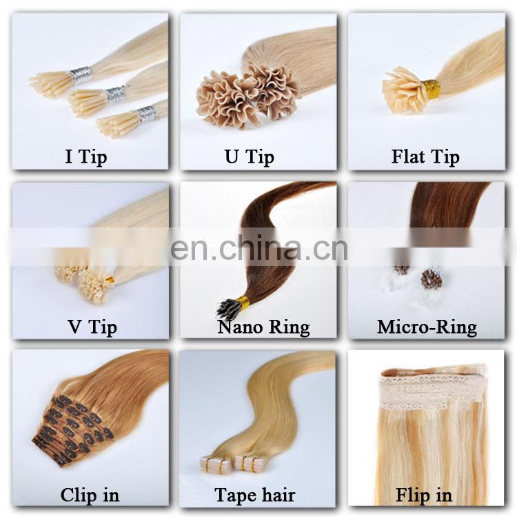 2015 Hot Selling Italian Glue Most Popular Brand Name Remy keratin hair extension