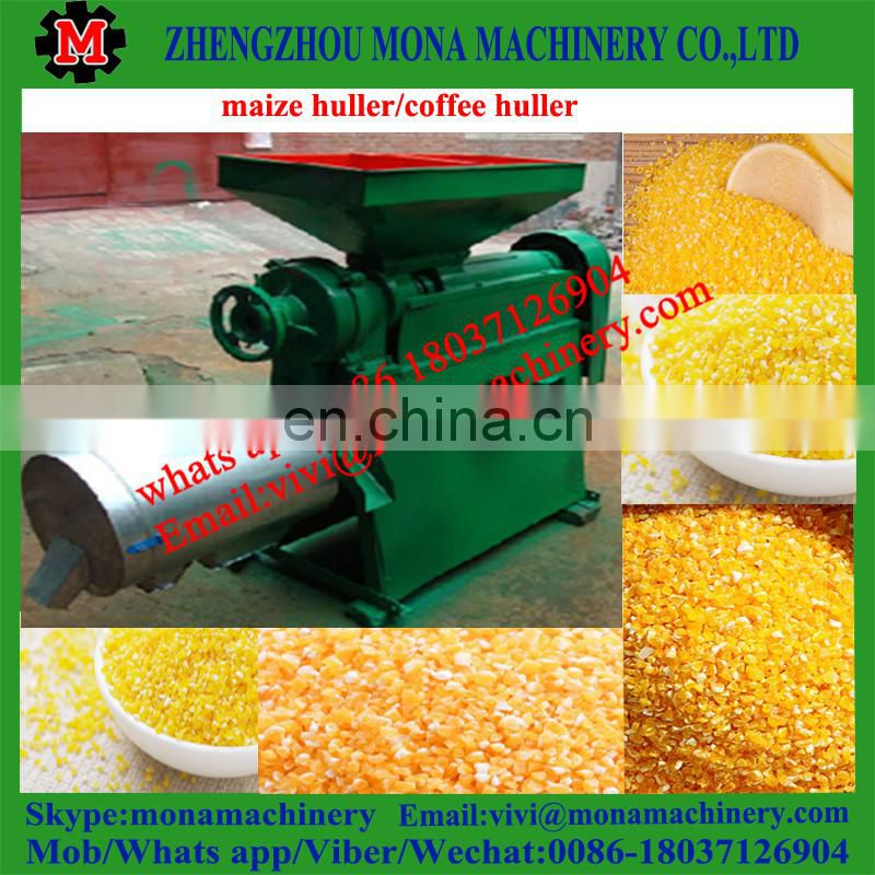 dry coffee bean parchment peeling machine