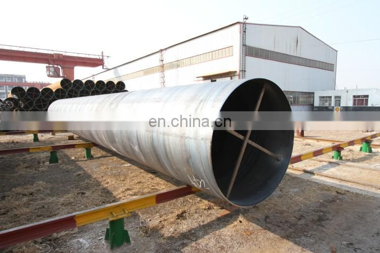 40 inch API 5l spiral welded steel pipe, 10 mm thick welded steel tubes 1016 mm OD