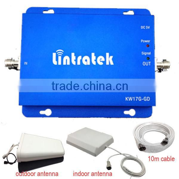 3G/ W-CDMA/GSM 2100MHz Mobile Phone Signal Repeater Booster Amplifier for week signal place Image