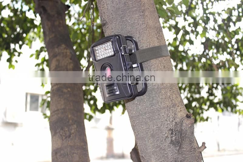 HD720P wild trail camera with 2.4'' TFT display hunting camera