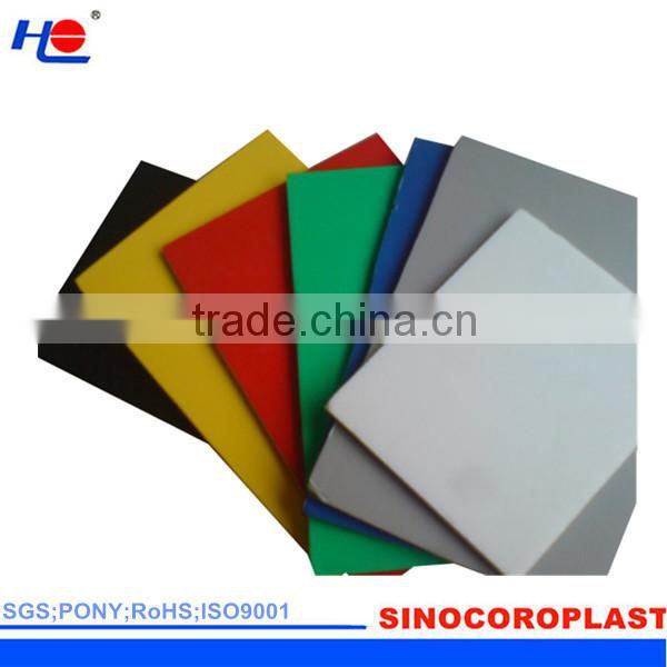 moisturerproof and retardant corrugated fluted plastic sheet