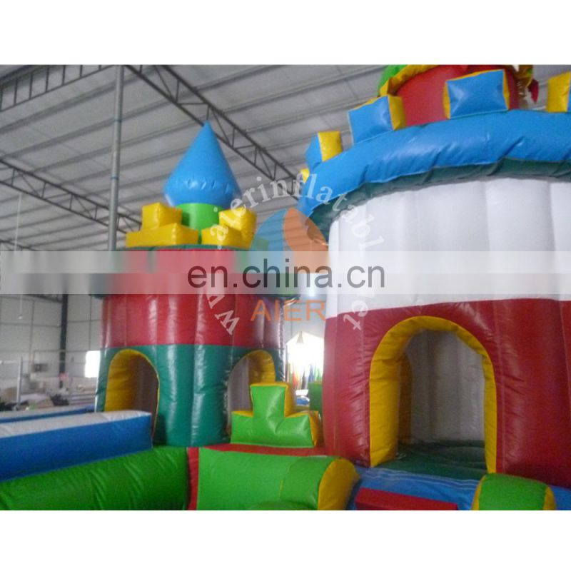 China factory price giant inflatable mickey funland for sale
