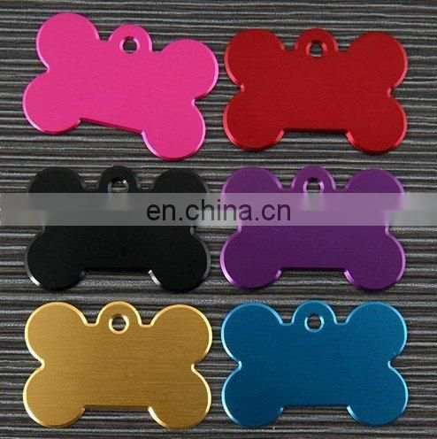 high quality custom shaped pet id tag