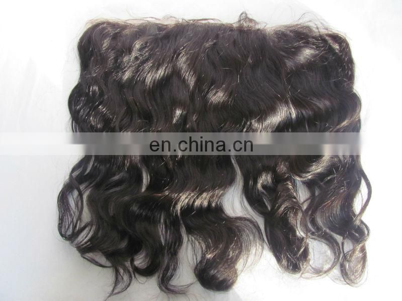 raw unprocessed 100% brazilian virgin hair lace frontals with baby hair human hair wig