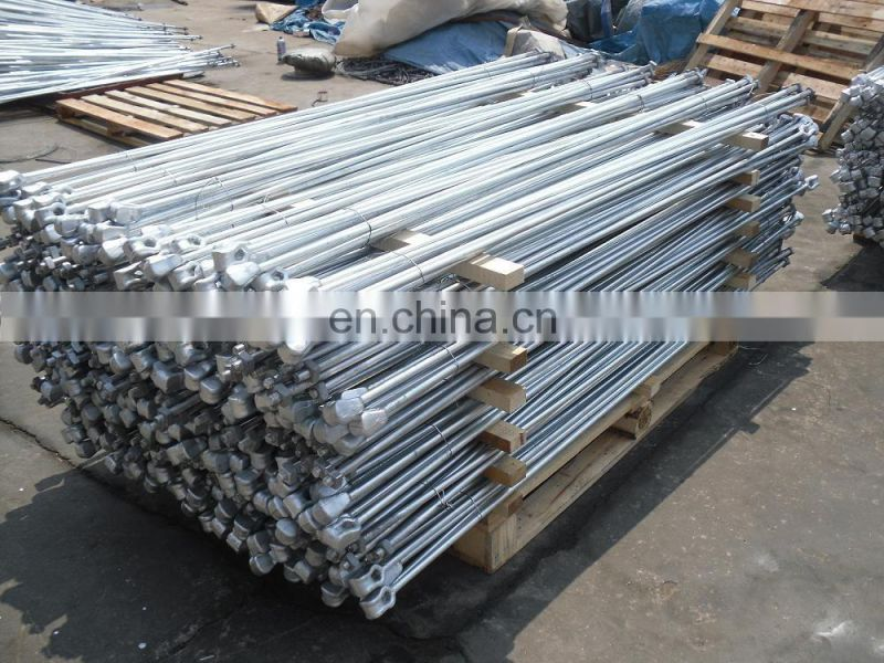 Pole Anchor Type Carbon Steel Ground Screw Anchor of Anchor