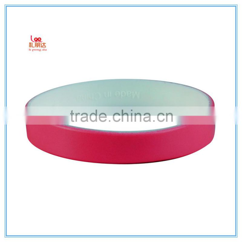 Basketball/Baseball/Football/ Running Silicone Rubber Bracelet, Silicone Rubber Wristband