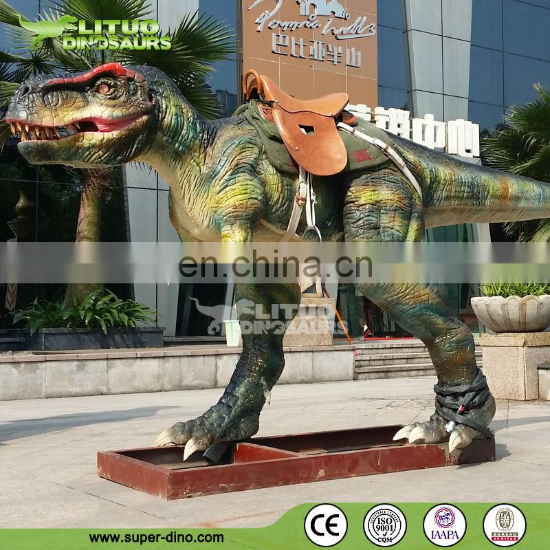 Amusement Animatronic Animal Dinosaur Rides for Kiddie