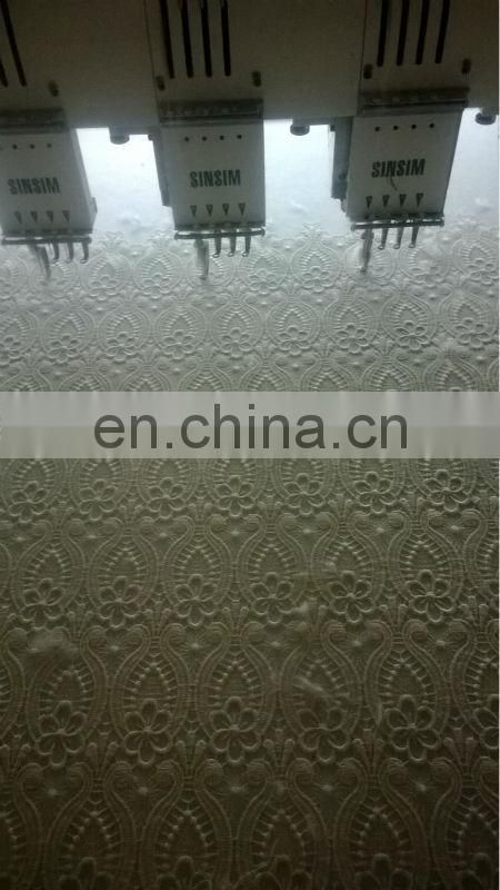 fashion wedding dress water soluble mesh cotton lace