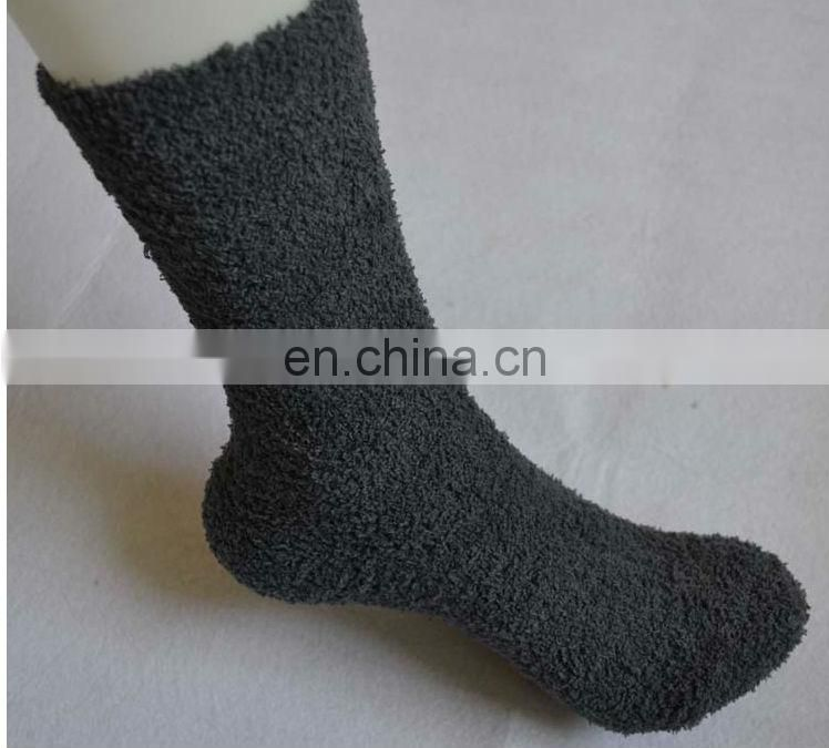 women white terry sock