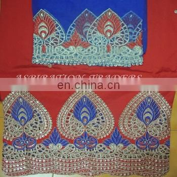 Latest wholesale silk fabric african lace george,african embroidery lace george french lace fabric wholesale for garment
