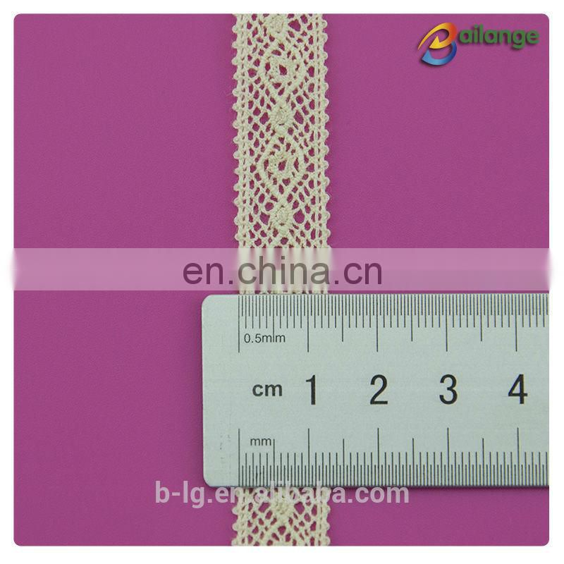 New design cloth decorate summer hot sell 100% cotton braid lace