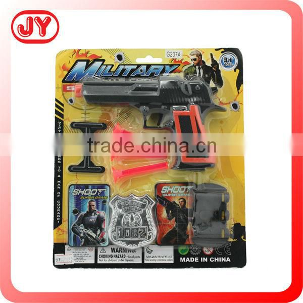 Hot sale realistic toy guns police gun toy play set