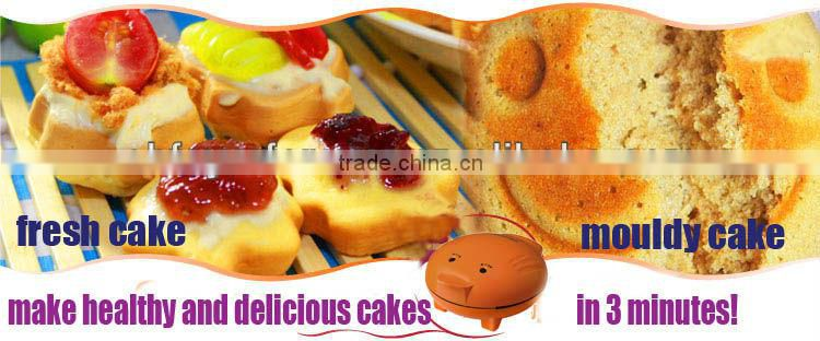 2013 Hot Sale Updated DIY Household 7 Cakecups Cute Cartoon Cups Cake Maker