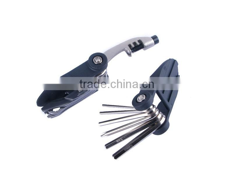 High quality CNC Stainless Steel Bicycle Repair Tool Kit