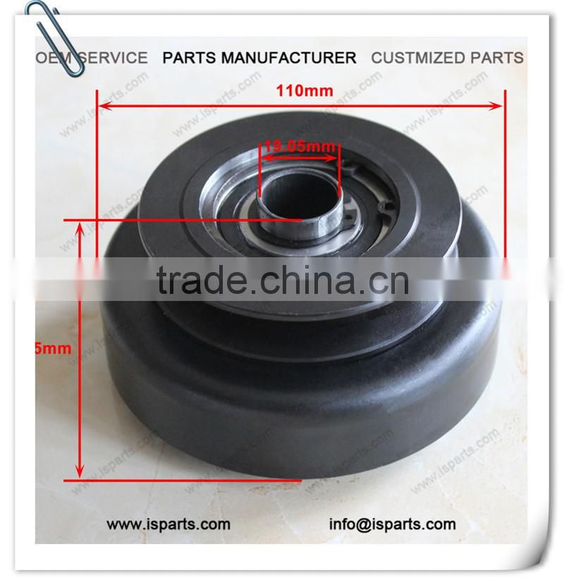 "Clutch Assembly with 3/4"" Shaft & Belt Pulley for Go-Karts & Mini Bikes"