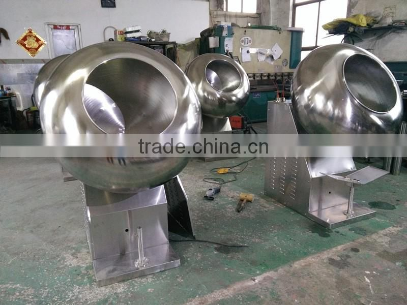 factory price hot sale pharmaceutical seed fertilizer film sugar coating machine with CE