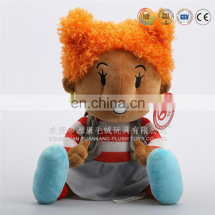 all kinds of famous plush doll toys