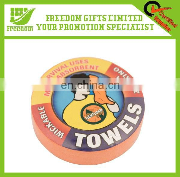 Promotion Soft Cotton Custom Compressed Towel