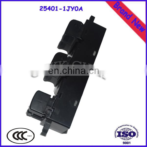 High Performance Window Lifter/Closer Master Switch For Alitima 25401-1JY0A