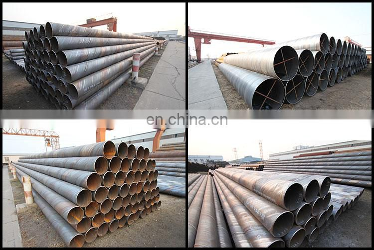 "High quality 8"" dia hot rolled spiral welded steel pipe"