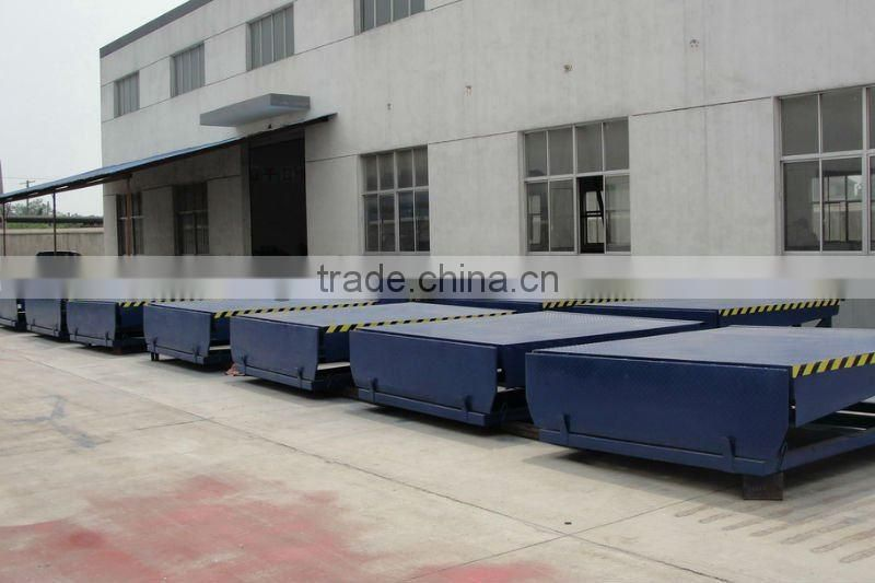 hydraulic loading and unloading equipment ramp dock leveler