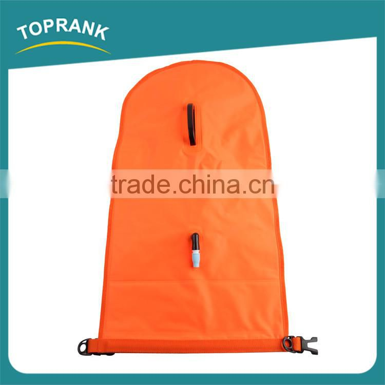 Multifunction foldable bags swimming buoy PVC inflatable mobile phone waterproof bag