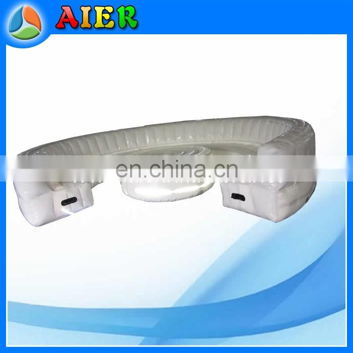 Event inflatable chesterfield sofa inflatable outdoor sofa