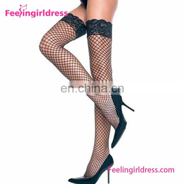 Sexy Womens Neckline Crotchless Fishnet Sheer Nylon Bodystocking Lingerie