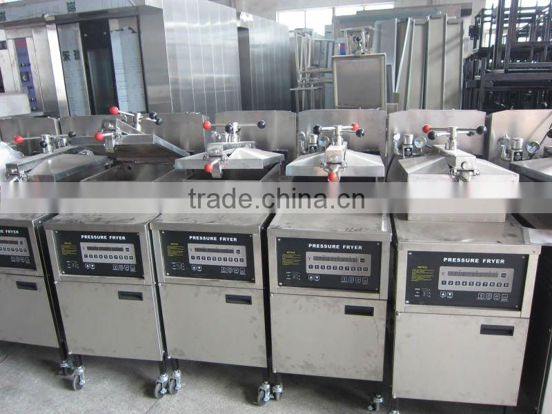 Gas Pressure Fryer(CE approved&Manufacturer),without oil pump or equip oil pump, can Export