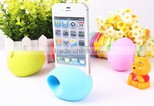 Hot sale different colors silicon desktop stand for i pad