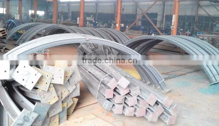 U Shape Steel Beam Arch in Mining Supporting of Mining