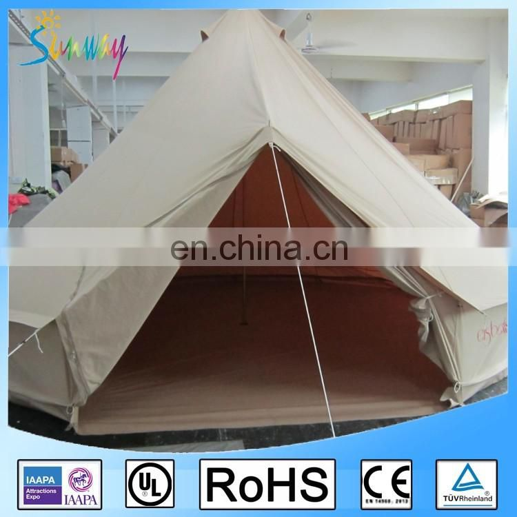 5m 7m Outdoor Emperor Sahara Canvas Bell Tent for sale