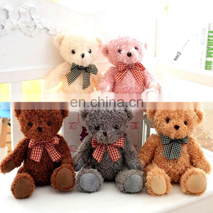 High quality baby plush toy mini teddy bear soft toy
