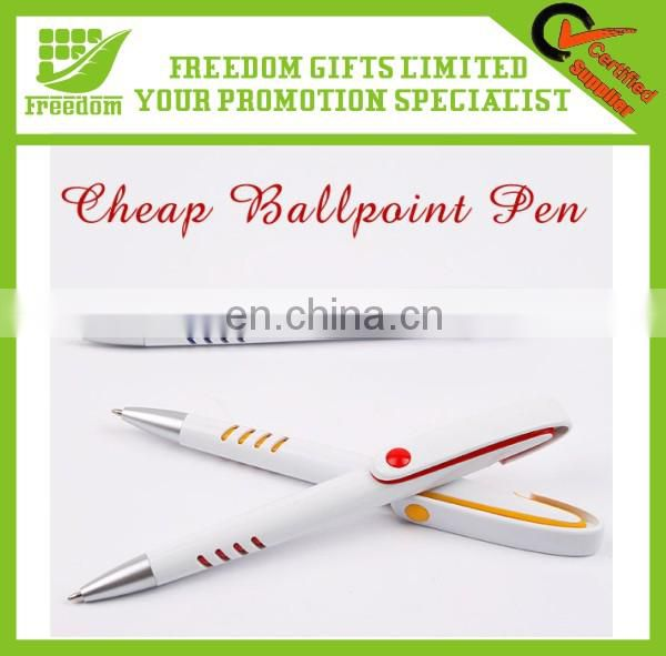 Promotional Fashion Advertising Plastic Ballpoint Pen