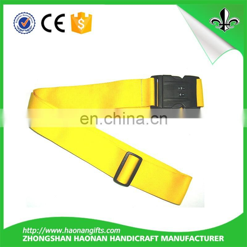 Heavy duty cross luggage strap travel tags accessories with custom logo