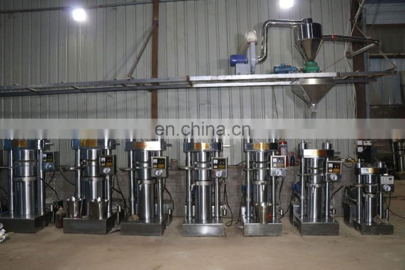 hydraulic coconut oil mill sesame cooking oil making machine