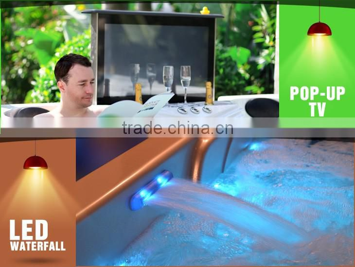 Mini spa equipment Factory portable hot tub/outdoor spa sizes