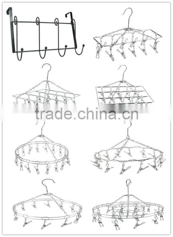 clothing hanger--stainless steel---12hangers