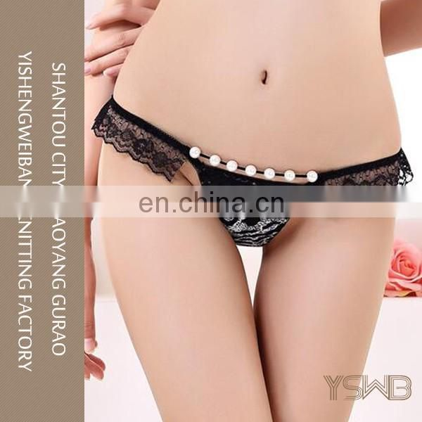 Lasted design black super hot comfortable thin sexy teen bra panty