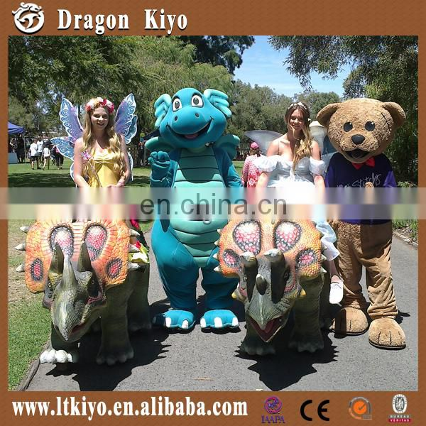 2016 kiddie fun toy walking animal for amusement park